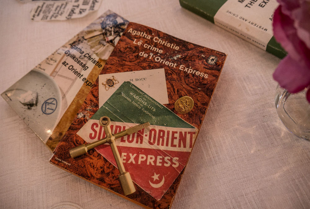 Solve a Mystery Aboard the Orient Express