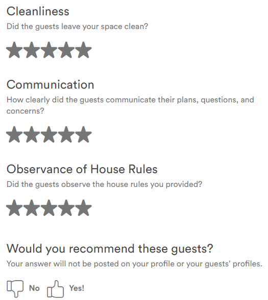Airbnb Guest? How to get Great Reviews | Traquo