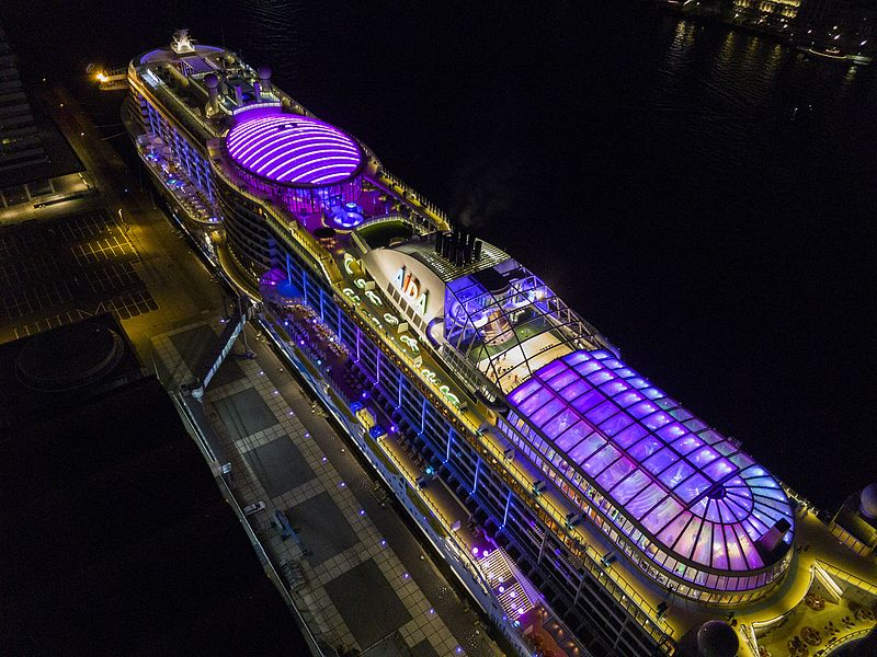AIDAprima: Watch a Cruise Ship Being Built