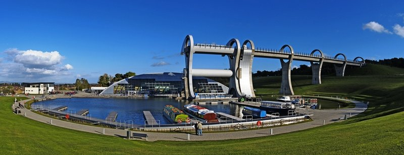 Take a ride on the Falkirk Wheel