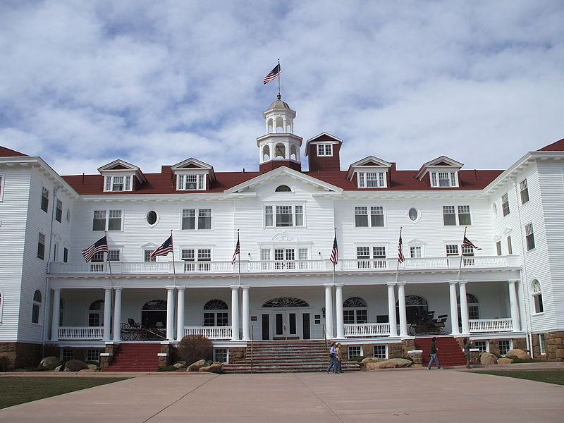 The Stanley Hotel, Colorado: Spooky