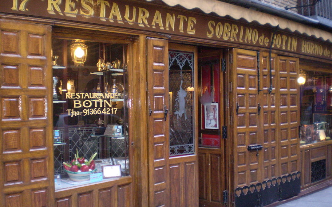 Restaurante Sobrino de Botín: Madrid