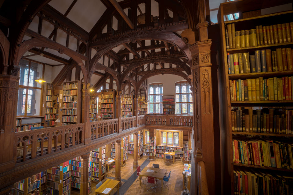 Stay at Gladstone's Library, Wales