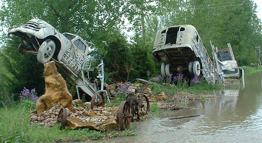 Truckhenge: Topeka, Kansas