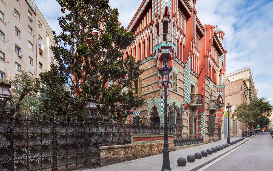 Gaudi's Casa Vicens: Barcelona