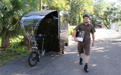 Green Fort Lauderdale: UPS' eBike