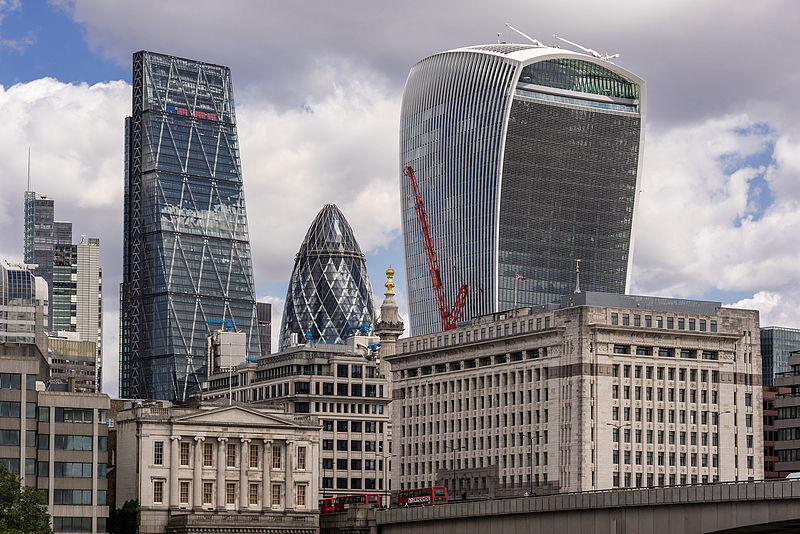 London: The Fryscraper of Fenchurch Street