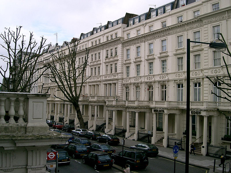 The Fake House at Leinster Gardens, London