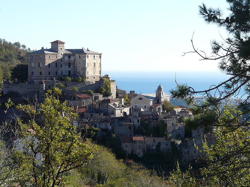 Balestrino Ghost Village