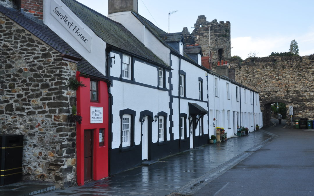 The Smallest House in Great Britain: Conwy, Wales