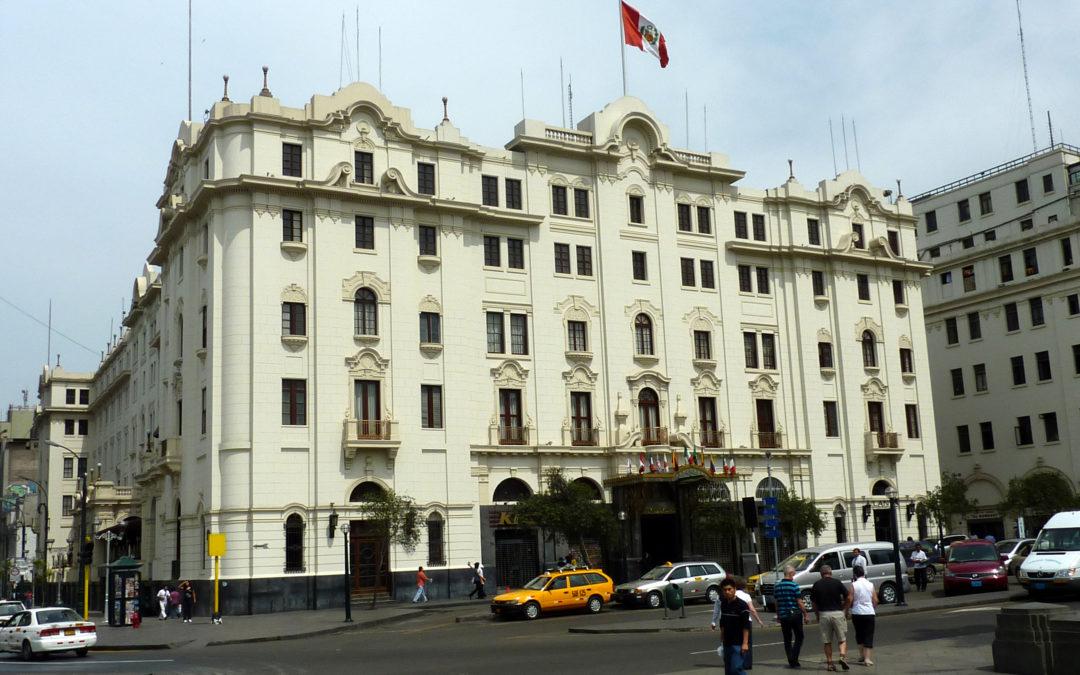 Hotel: Gran Hotel Bolivar, Lima