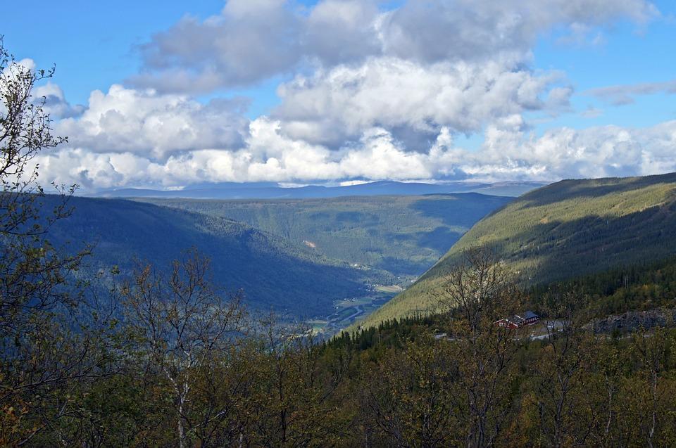 Rjukan. Norway. Mirrored Sunshine