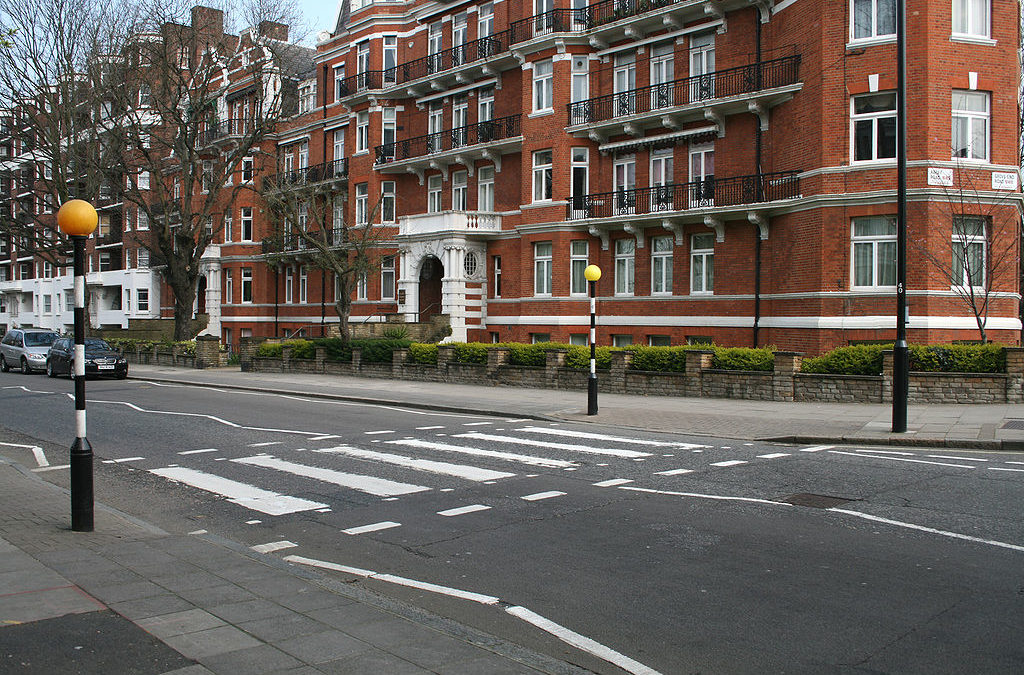 Visiting the UK. Abbey Road, London