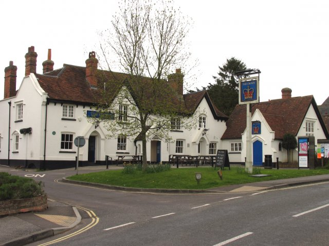 The Crown, Kingsclere. Haunted?
