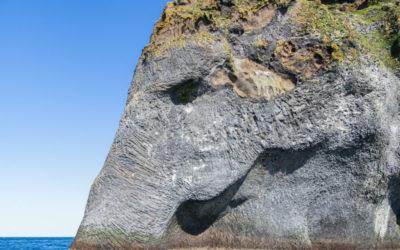 Elephant Rock, Heimaey Island, Iceland