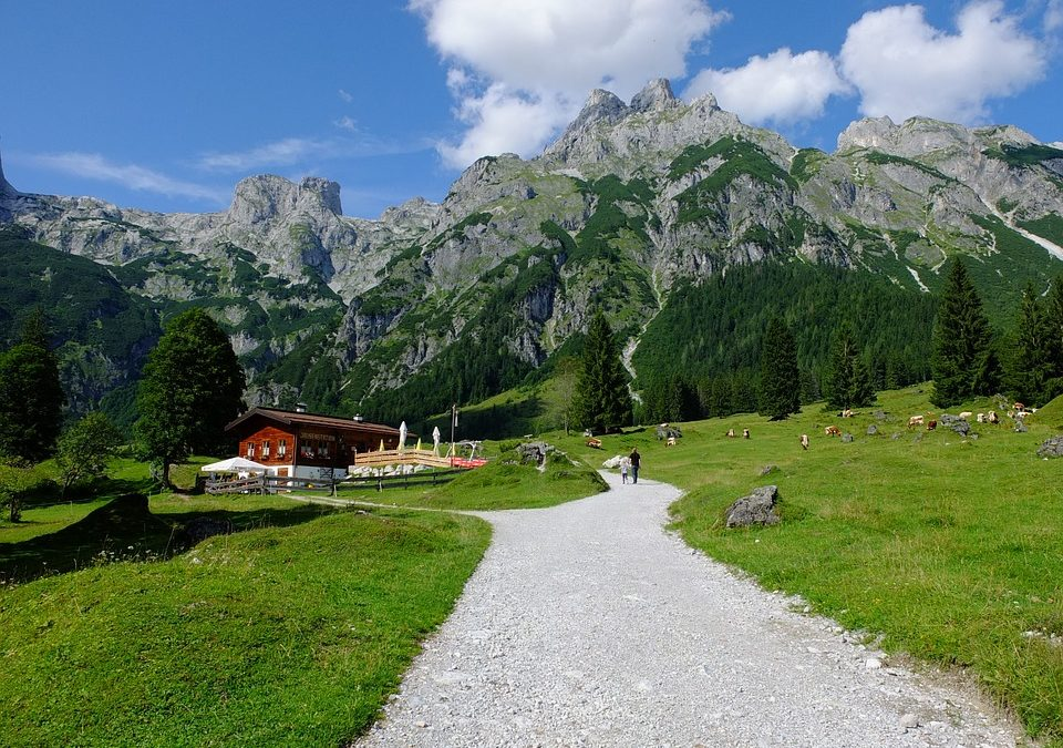 The Austrian Village with Theft-Proof Road Signs