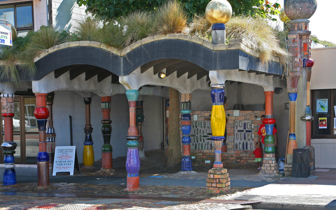 Hundertwasser Toilets, Kawakawa, New Zealand