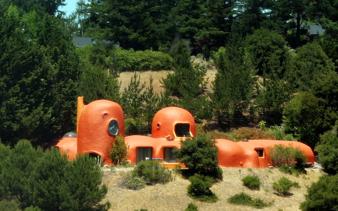 The Flintstone House, Hillsborough, California