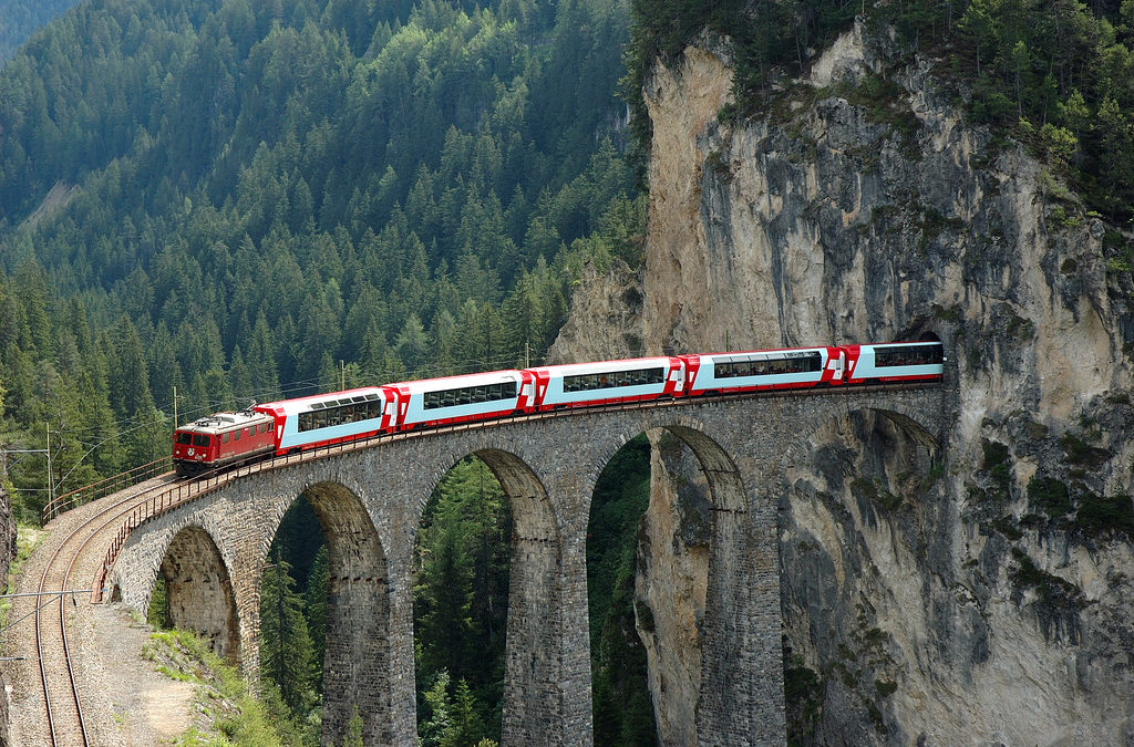 The Glacier Express, Switzerland