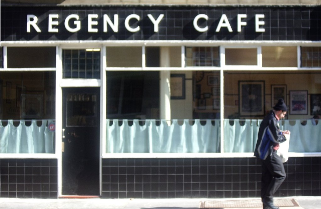 Visiting London: Regency Cafe