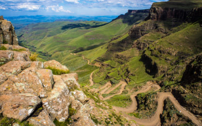 The Sani Pass, South Africa