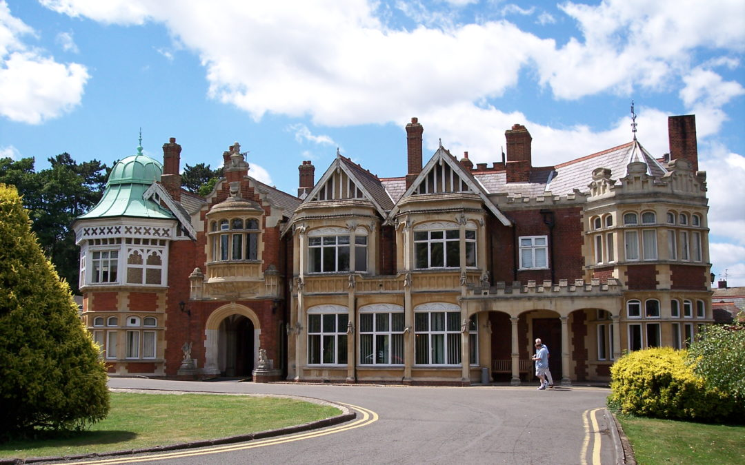 Visiting the UK. Bletchley Park
