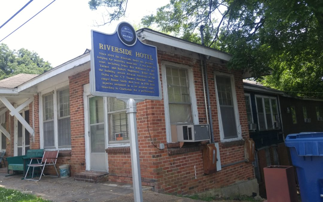 The Riverside Hotel, Clarksdale, Mississippi