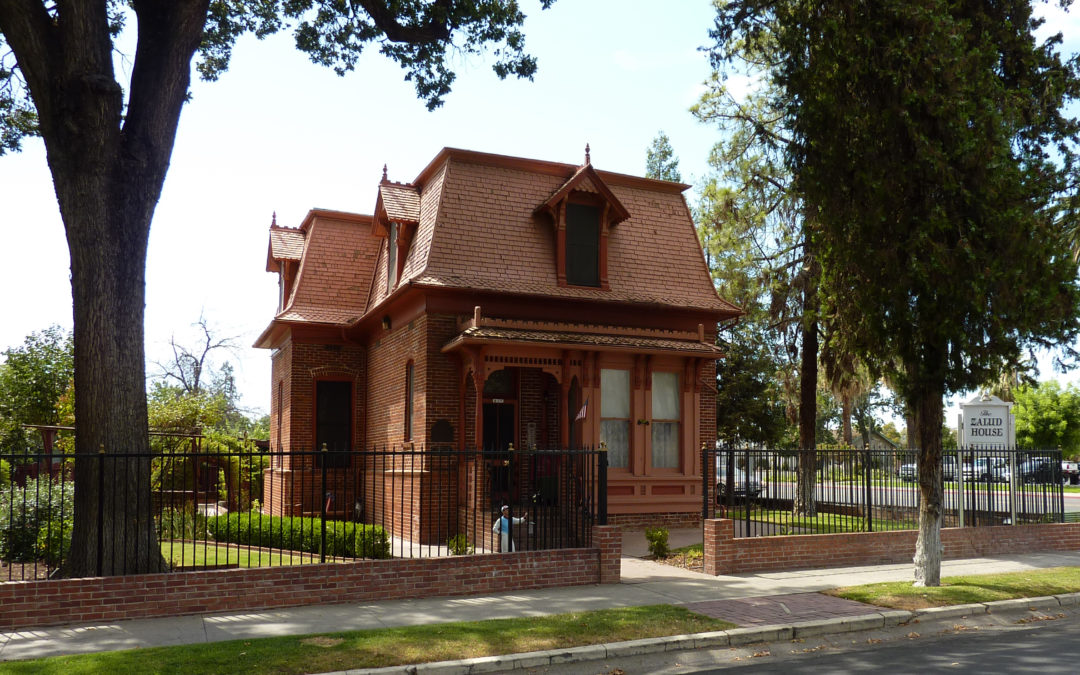 Zalud House, Porterville, California