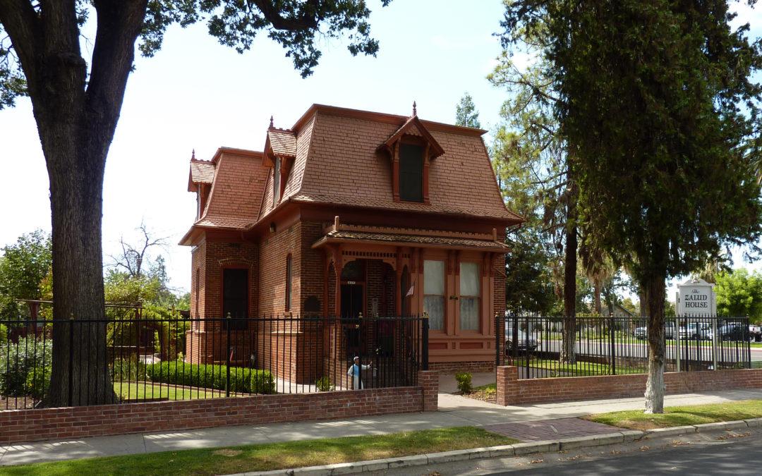 Zalud House, Porterville, California