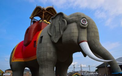 Lucy the Elephant: Margate City, New Jersey