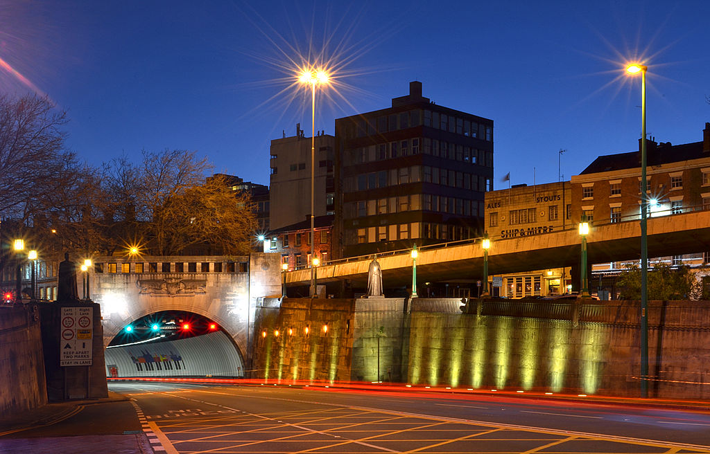 Visiting The UK. Queensway Tunnel, Merseyside