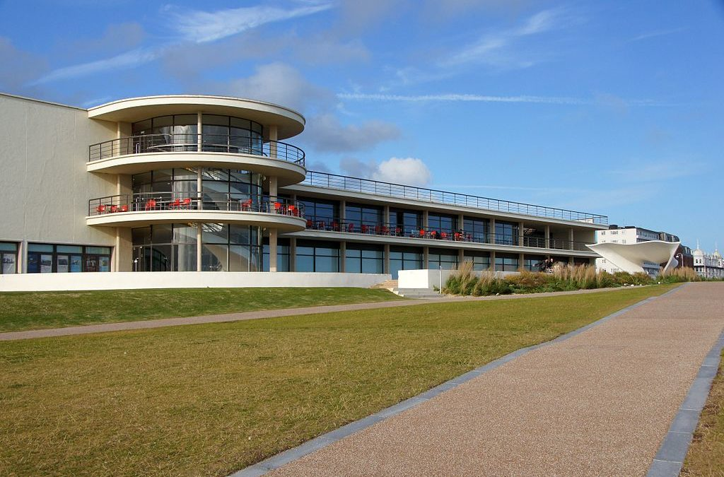 De La Warr Pavilion, Bexhill, Sussex, UK