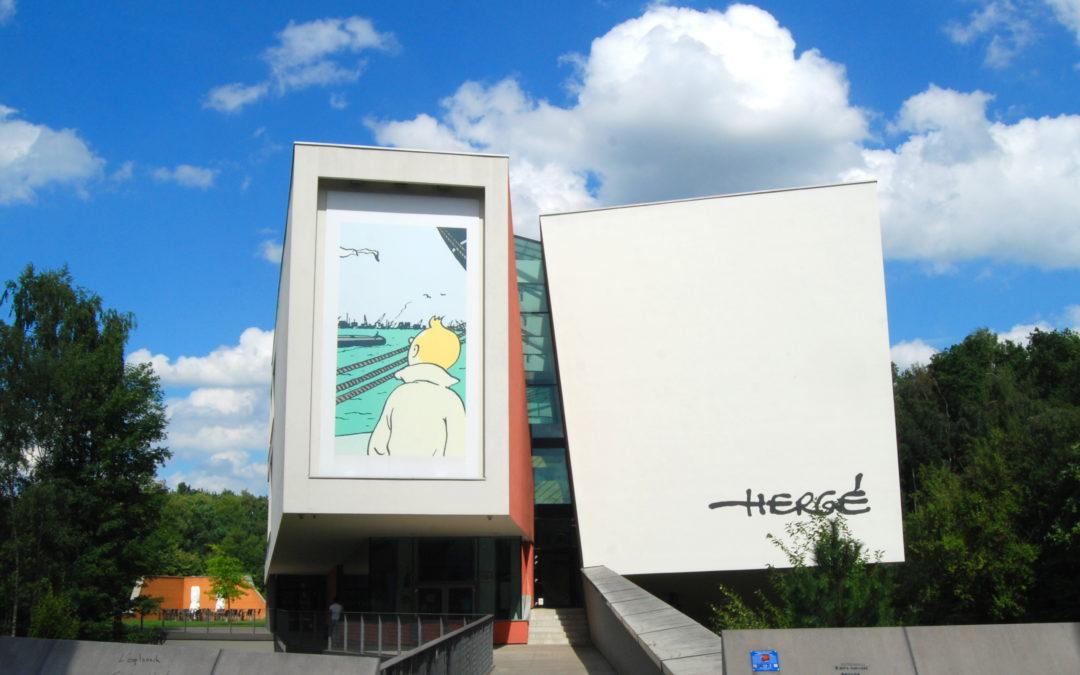Musée Hergé, Louvain-la-Neuve, Belgium