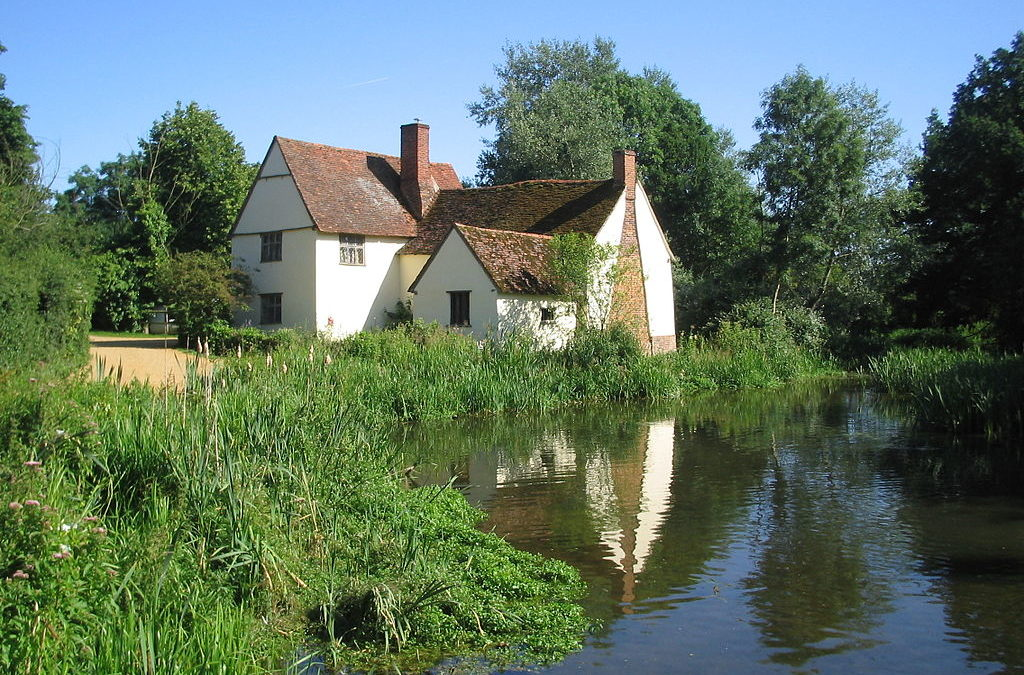 Willy Lott's Cottage, Suffolk, UK