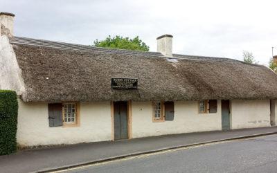 Visiting Scotland: Burns Cottage