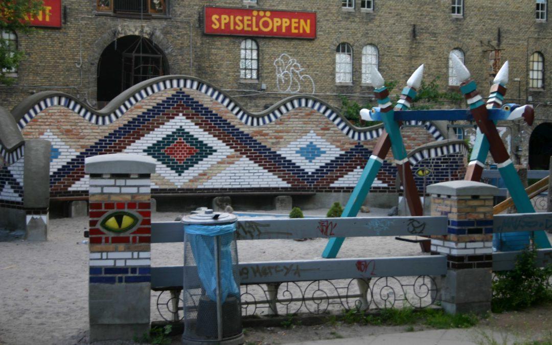 Christiania, Copenhagen. Denmark
