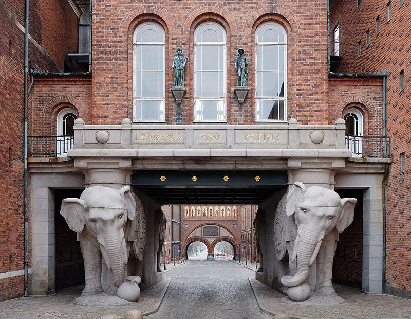 Elephant Gate, Copenhagen, Denmark