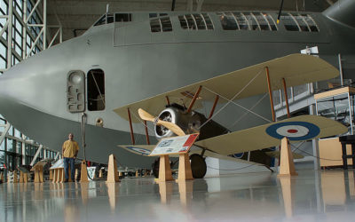 The Spruce Goose at the Evergreen Aviation & Space Museum