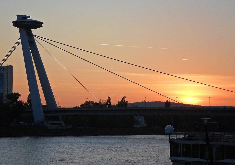 The UFO, Bratislava, Slovakia. Would You Dare?