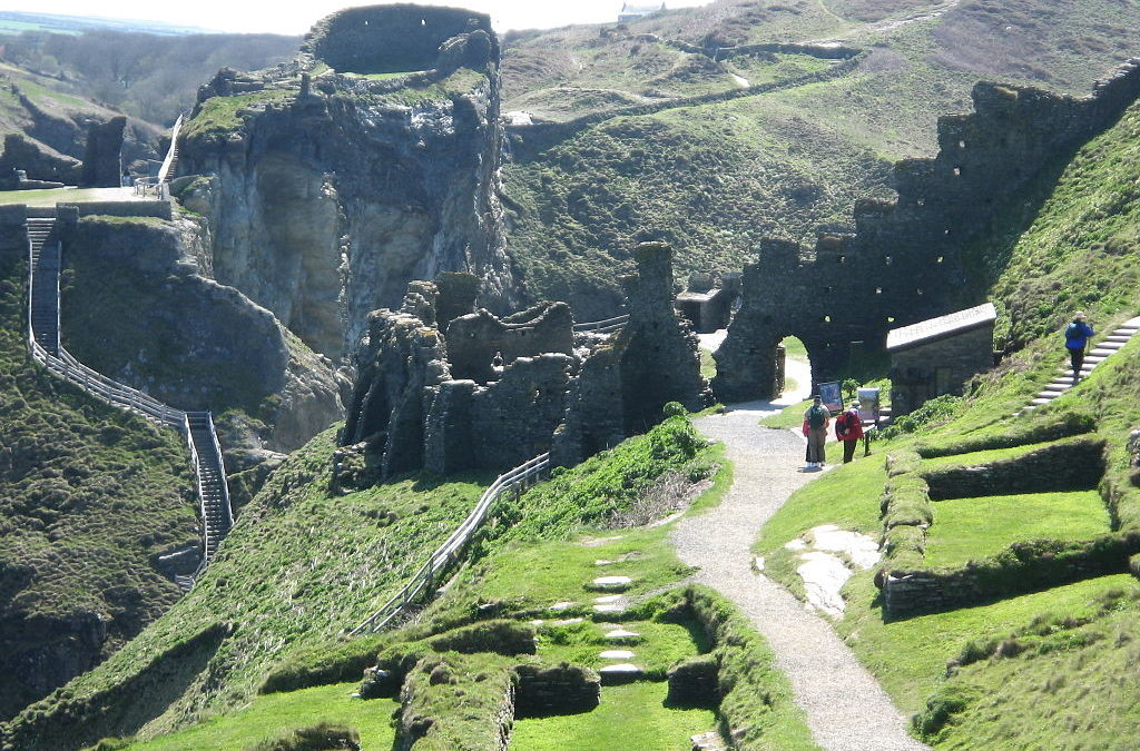 Visiting the UK: Tintagel Castle, Cornwall.