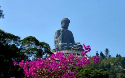 The Big Buddha, Hong Kong.