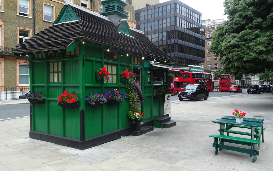 London: Cabmen's Shelters